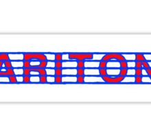Baritone Red White & Blue Sticker