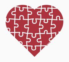 Puzzle Heart Kids Tee