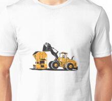 Front End Loader Digger Excavator Retro  Unisex T-Shirt