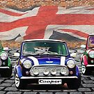 Mini Cooper Trio  by Anthony  Poynton