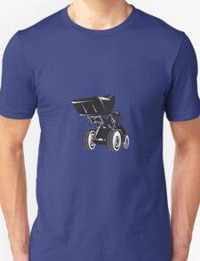 Front End Loader Digger Excavator Retro  T-Shirt