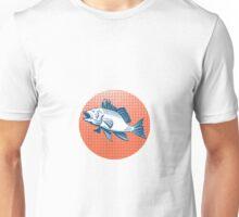 Sea Bass Retro  Unisex T-Shirt