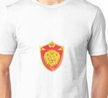Lion Crown Shield Retro  Unisex T-Shirt