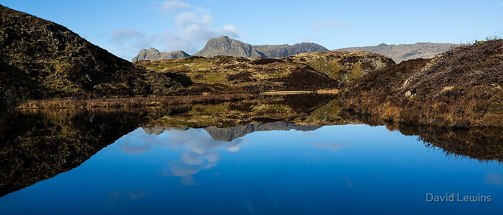 Lingmoor Tarn - Cumbria by David Lewins