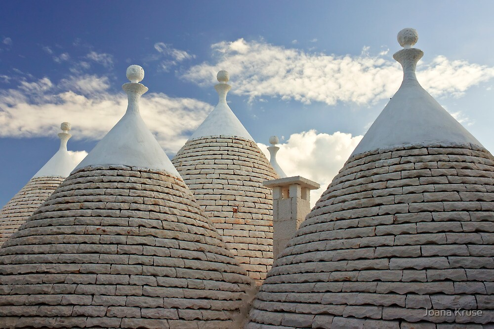 Trulli of Alberobello by Joana Kruse