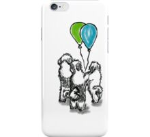 Balloon Puppies iPhone Case/Skin