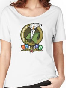 The Easter Lily Badge Women's Relaxed Fit T-Shirt