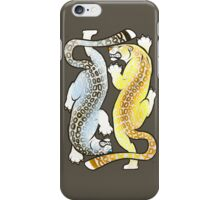 Jaguars - Silver and Gold iPhone Case/Skin
