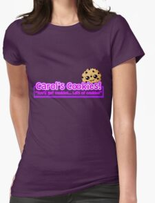 Carol's Cookies - The Walking Dead Womens Fitted T-Shirt