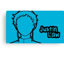 Justin Law large silhouette print Canvas Print