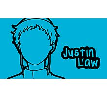 Justin Law large silhouette print Photographic Print