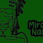 Mira Naigus large silhouette print by sweetsheart