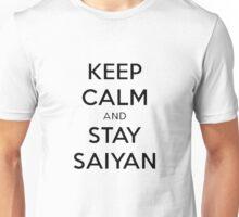 Keep Calm, Stay Saiyan Unisex T-Shirt