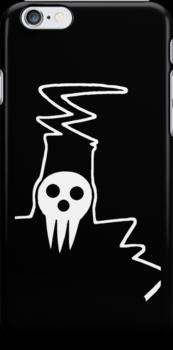 Shinigami-sama silhouette iPhone/iPod Case by sweetsheart
