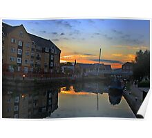 Sunset at Apsley Poster