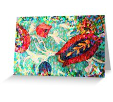 abstract art 5 Greeting Card