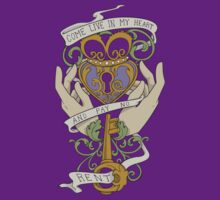 Come Live In My Heart - Claddagh by Christina Smith