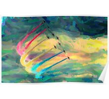abstract art 7 Poster