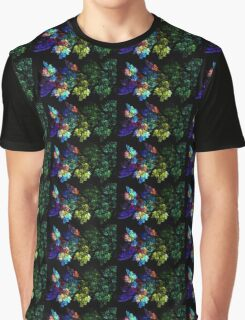 Festive Leaves Graphic T-Shirt