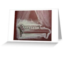 Chaise (study) Greeting Card