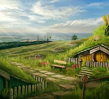 Hobbiton Shire by Anthony  Christou