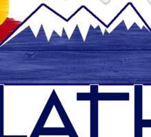 Olathe Colorado wood mountains Sticker