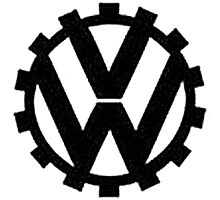 WW2 VW Logo Photographic Print
