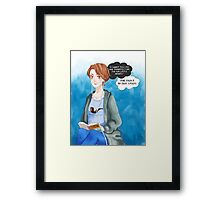 Hazel Grace - TFIOS Framed Print