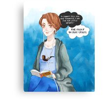 Hazel Grace - TFIOS Canvas Print