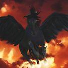 Black Pegasus by TriciaDanby