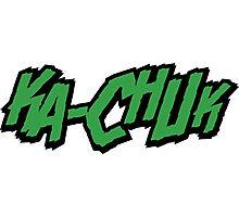 KA-CHUNK - Green Photographic Print