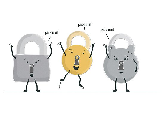 lock picking by Emma Harckham