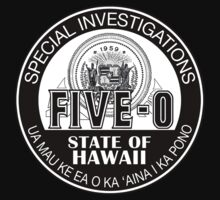 Hawaii Five-O Special Investigations Shield by Sharknose