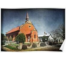 Presbyterian Church at Junee Poster
