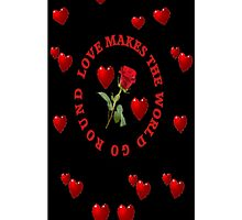 *•.¸♥♥¸.•*LUV MAKES THE WORLD GO ROUND IPHONE CASE*•.¸♥♥¸.•* by ╰⊰✿ℒᵒᶹᵉ Bonita✿⊱╮ Lalonde✿⊱╮