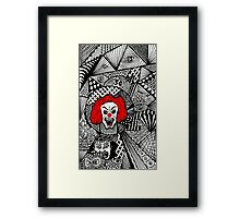 Mind Framed Print