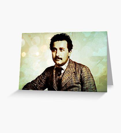 Albert Einstein 1904 in Bern Greeting Card