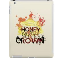 CROWN iPad Case/Skin