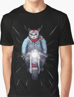 Cafe Racer Cat Speedo Graphic T-Shirt