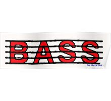 Bass Red II Poster
