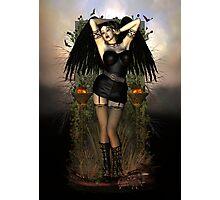 Gothic Vampiress Photographic Print