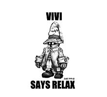 Vivi Says Relax - Ipad Case by tribal191983