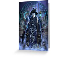 Witch Hecate Greeting Card