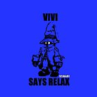 Vivi Says Relax - Blue - Ipad Case by tribal191983