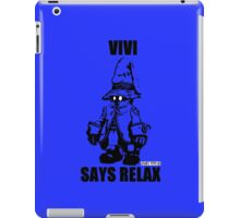 Vivi Says Relax - Blue - Ipad Case iPad Case/Skin