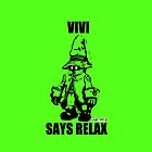Vivi Says Relax - Green - Ipad Case by tribal191983