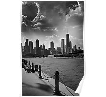 Chicago from Navy Pier Poster
