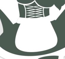 Ménage à Trois Sexy French Maids  Sticker