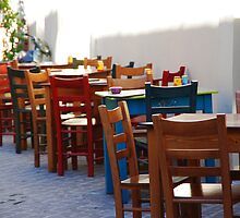Chairs and tables 1 by Giuseppe Ridinò