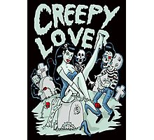 Creepy lover Photographic Print